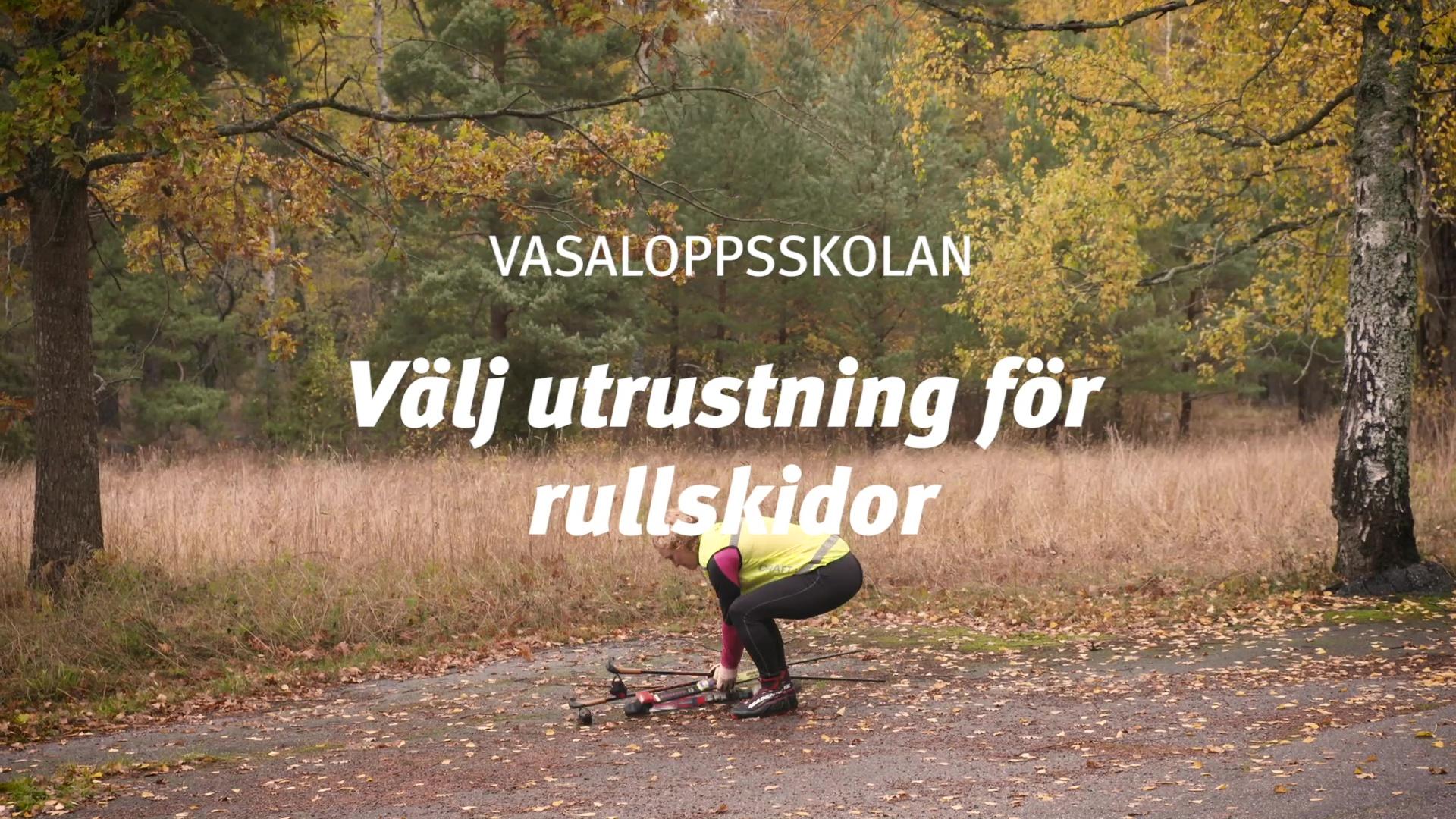 Rullskidor med Catarina Henriksson