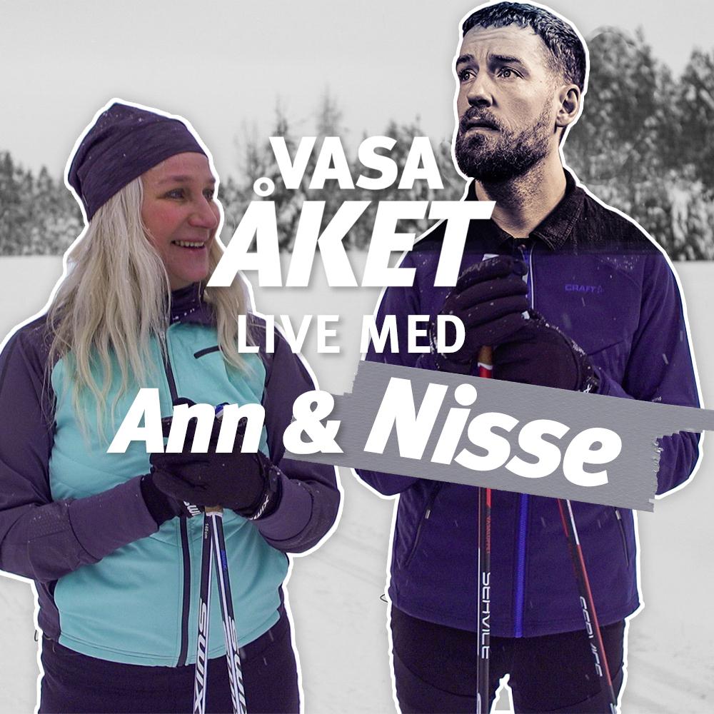 Vasaåket Live med Ann & Nisse