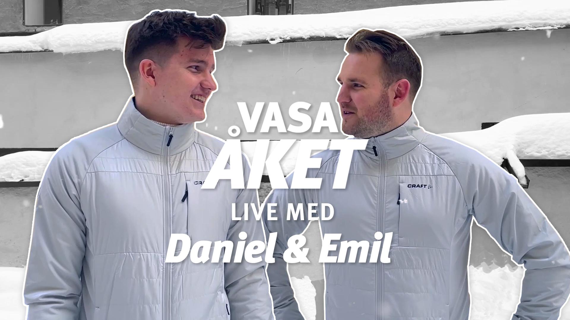Vasaåket Live med Daniel & Emil