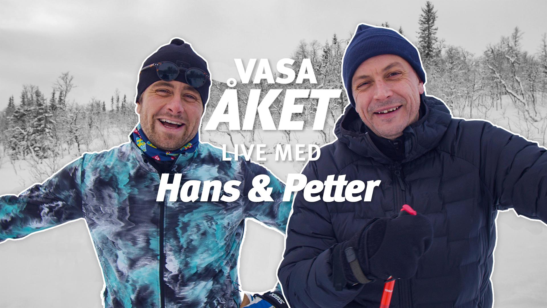 Vasaåket 90 – Uppladdning med Hans & Petter